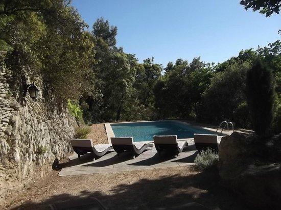 La Bastide du Vallon: La piscine