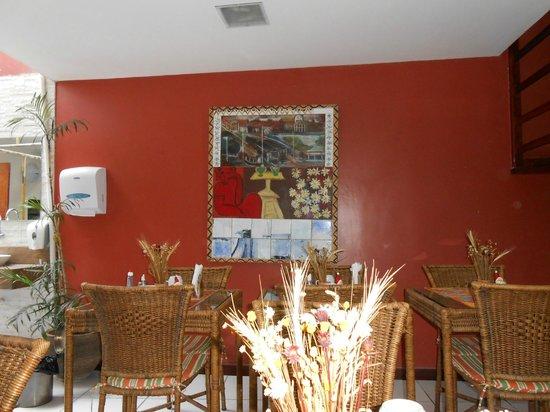 Quaraca Pousada: Sala de refeição