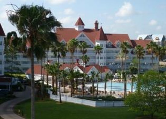 Disney's Grand Floridian Resort & Spa: View from my balcony