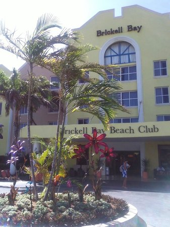 Brickell Bay Beach Club & Spa: Brickell bay