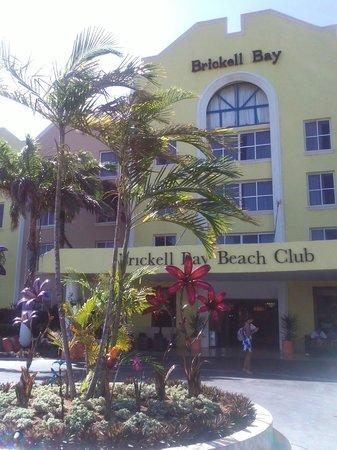 Brickell Bay Beach Club & Spa : Brickell bay