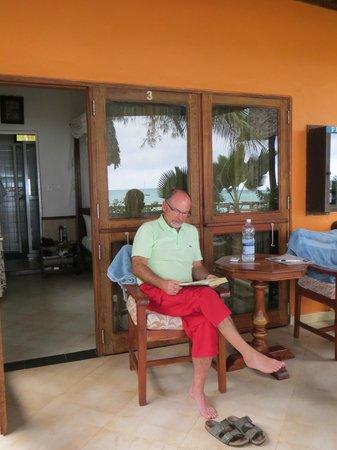 Mnarani Beach Cottages: Sea view cottage