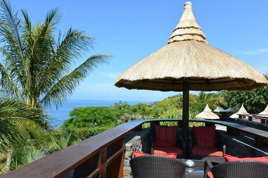 PALM Hotel & Spa: Le deck