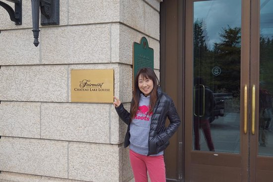 Fairmont Chateau Lake Louise : レイクルイーズが一望です!