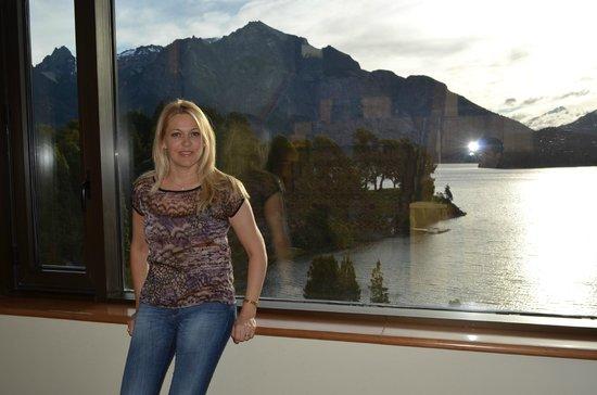 Llao Llao Hotel and Resort, Golf-Spa : ventanal ala moreno