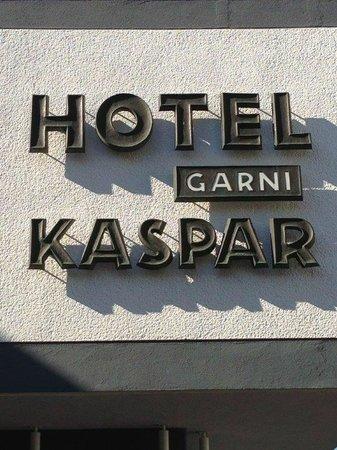 Hotel Kaspar Garni: Fassade