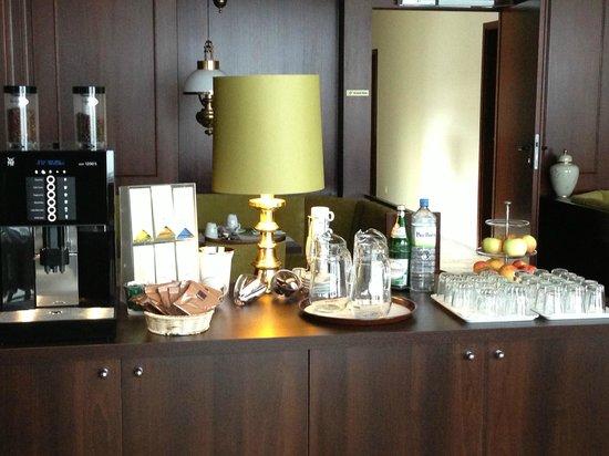 Hotel Kaspar Garni: Frühstücksraum