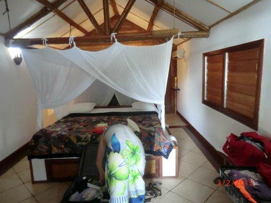 Le Jardin Maore: intérieur bungalow