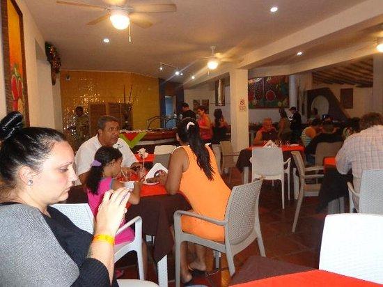 LD Palm Beach: desayuno en el comedor