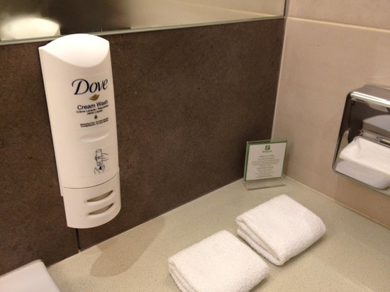 Holiday Inn Kiev: Soap, shampoo, and conditioner in one...