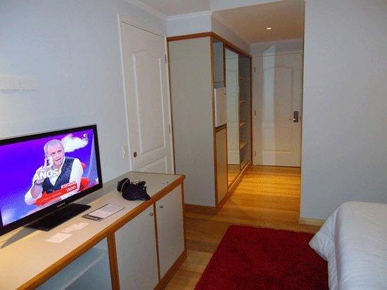 Hotel Italiano: Muy lindos los muebles a medida de la Hab.