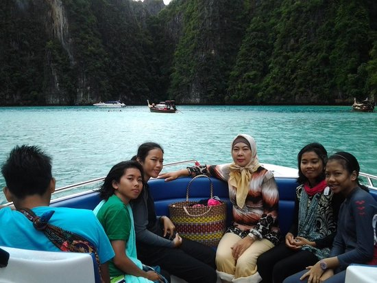 Phi Phi Islands : Maya island