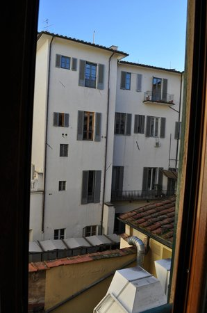 Hotel Casci: View from room