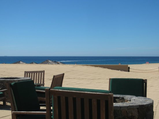Solmar Resort: This is the view from the restaurant (Tejaban)