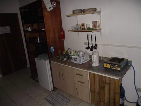 Hotel Luz De Vida: MINI KITCHEN AREA