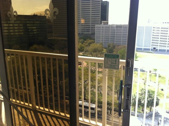 Holiday Inn Downtown Superdome: balcony