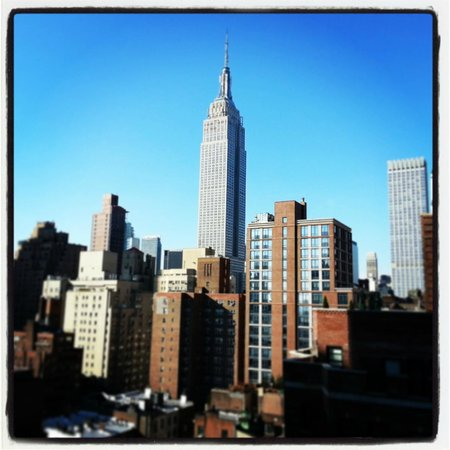 Shelburne NYC–an Affinia hotel: View from the room on the 15th floor