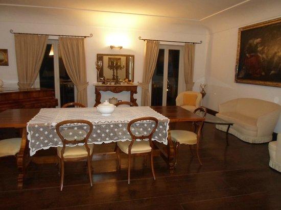 Villa Rizzo Resort & SPA: Salone villetta