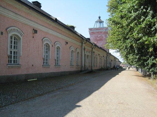 Fortress of Suomenlinna: Hauptgebäude am Hafen