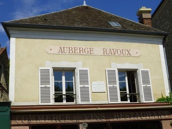 Marker for la pluie rain picture of maison auberge de for Auberge ravoux maison van gogh