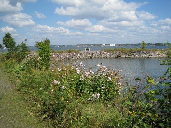 Fortress of Suomenlinna: Ostseite der Insel