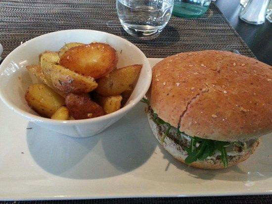 Gentle Gourmet Paris : Burger portobello