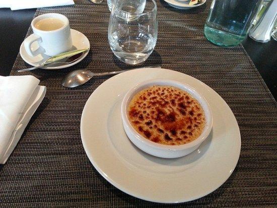 Gentle Gourmet Paris : Creme brulee grand margnier