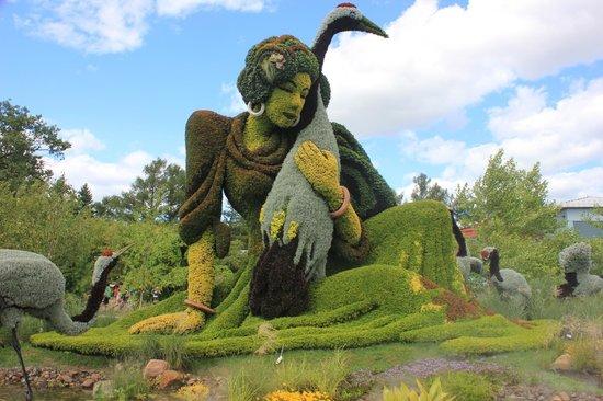 Montreal Botanical Gardens: Exibicao Mosaico Exculturas 2013