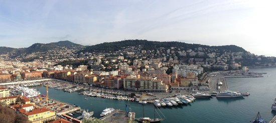 Prince's Palace : On the hill of Monaco