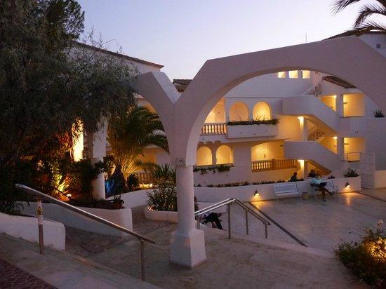 Eingangsbereich SENTIDO Punta del Mar