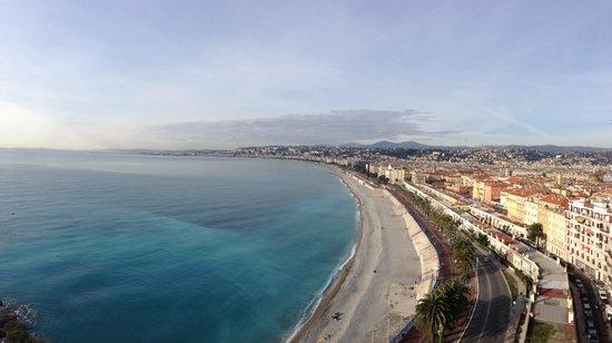 Hyatt Regency Nice Palais de la Mediterranee: View from Castle Hill