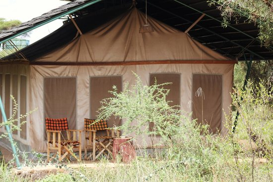 Sentrim Amboseli: Best place to sit
