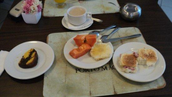 Hotel Porto Maceio: Café da manhã