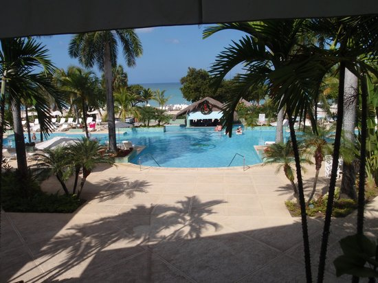 Couples Negril : view from the lobby