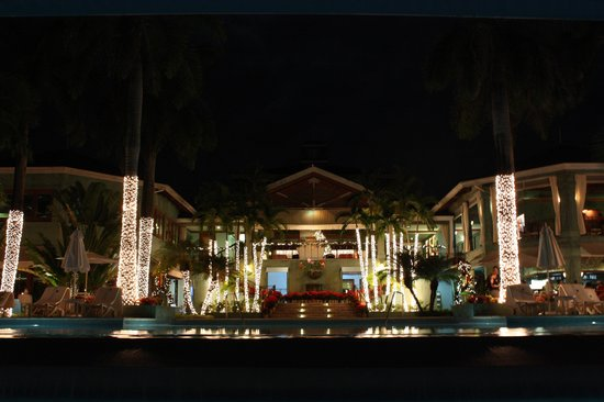 Couples Negril : resort at night