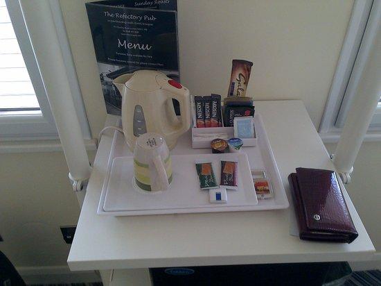 Hotel Unique: tea time