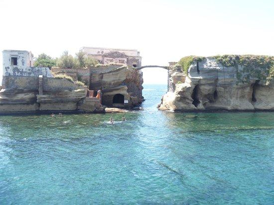 Parco Sommerso di Gaiola Area Marina Protetta: mare