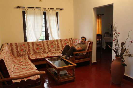 Koshys Homestay : We had the common areas all to ourselves.