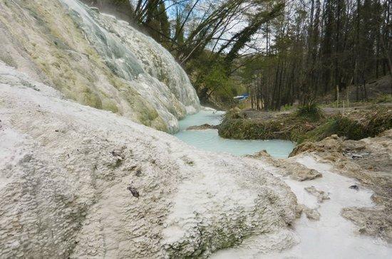 Fosso Bianco - Bagni San Filippo: torrente
