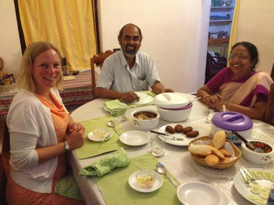 Koshys Homestay: Dinner feast