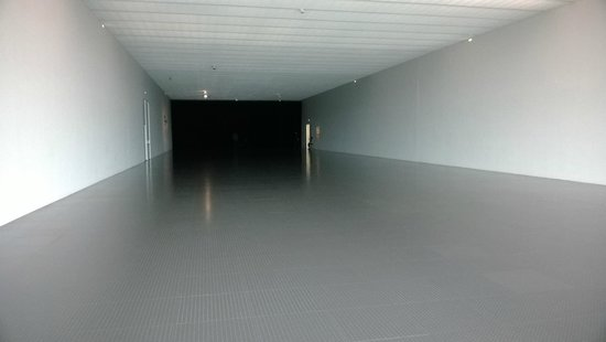 Centre Pompidou Metz : Empty room, 4th floor