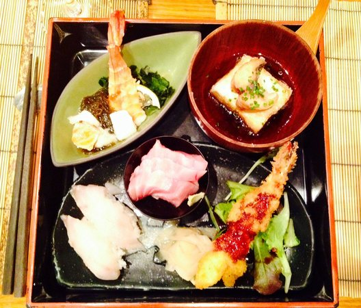 Azabu: Tasty entrees