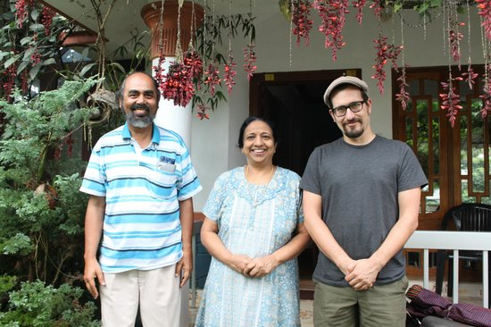 Koshys Homestay: Saying good-bye to Zachariah and Ramani