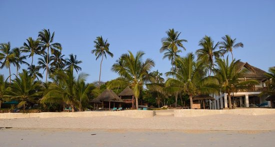 Waterlovers Beach Resort : Resort und Diani Beach