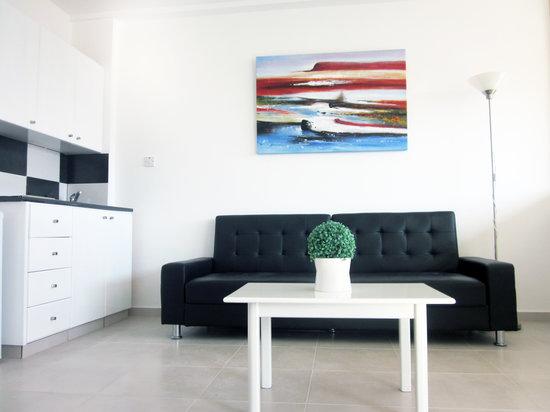 Margarita Napa Apartments : Living room