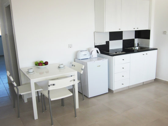 Margarita Napa Apartments : kitchen