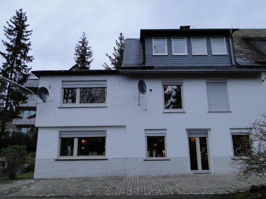 Haus Am Hirschsprung: Onze kamer lag op de 2e verdieping, maar 1 trap omhoog