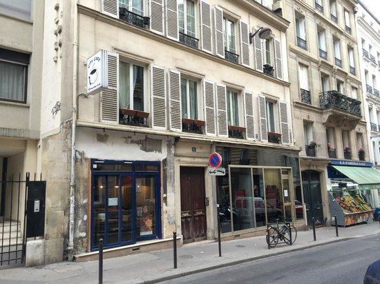 Plat principal cotelettes d 39 agneau picture of abri for Restaurant abri paris