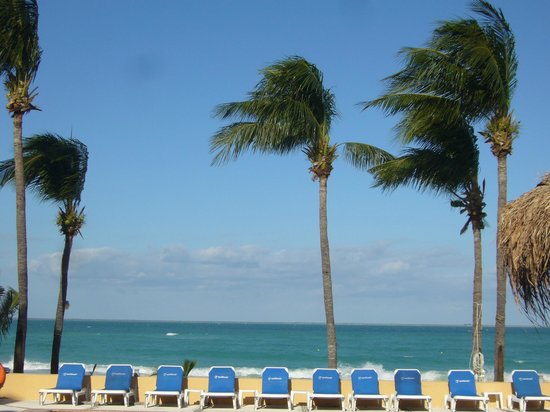 Playa Norte: getting windy