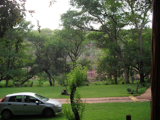 Zenzele River Lodge : View from Chalet